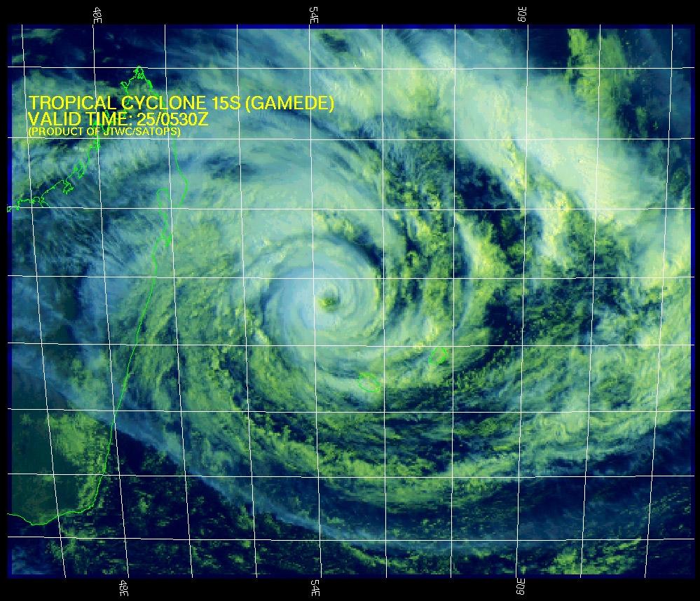 Cyclonextr me m t o cyclone ouragan typhon bassin oc an indien sud ouest r union maurice - Bassin canard mauritius saint paul ...